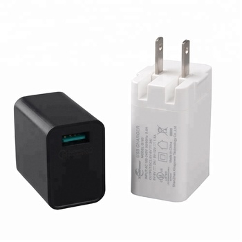 Efficiency level VI usb fast charger with ULCUL GS CE SAA FCC ROHS CB SAA