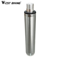 WEST BIKING Aluminium Alloy Portable Mini Bike Pump Accessory attached to the Mini hand air bike pump Bicycle Pump Accessory