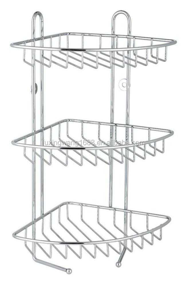 Stainless Steel Bathroom Corner Shelf, Stainless Steel Bathroom ...