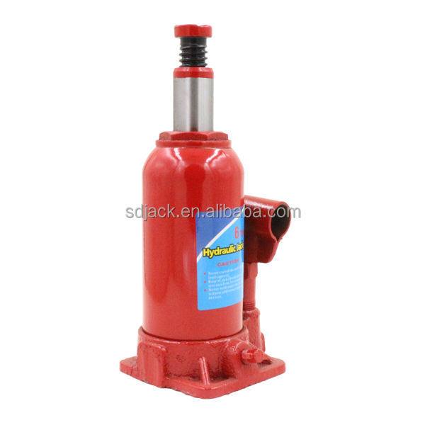 6Ton mechanische lifting hydraulische fles jacks