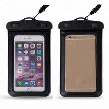 IPX8 PVC Material Custom Logo Waterproof Cell Phone Case
