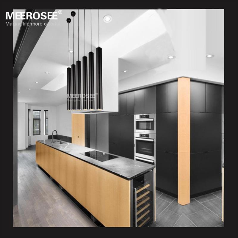 2015 vente chaude led d coratif suspension couloir all e porche luminaire noir cylindrique en. Black Bedroom Furniture Sets. Home Design Ideas
