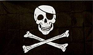 Jolly Roger Pirate Pirate Flag Ship Banner Huge Pennant Sign 4x6 Foot