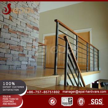 Modern Design Outdoor Stair Rod 304 Stainless Steel Railing