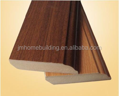 Hot sale MDF Skirting Board / Baseboard /Wood Skirting Board from China