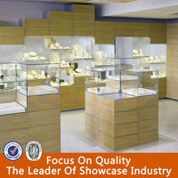 Eye-attractive used jewelry display cases for store retail