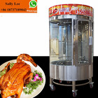 Gas roasted chicken oven equipment/rotary chickens grill machine/roast duck oven