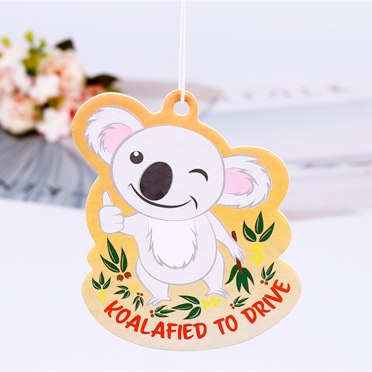 Customized Logo All Scents Refresh Paper Car Air Fragrance Air Freshener