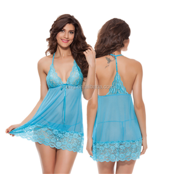 Wholesale Underwear Transparent Christmas Nighty Asian Sexy Dress Mature Lingerie