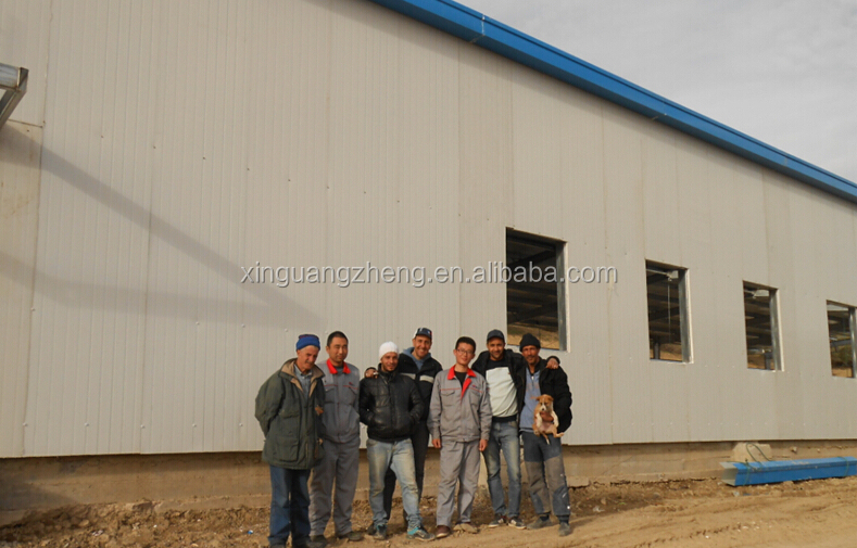 pre engineering quick build steel structure warehouse building