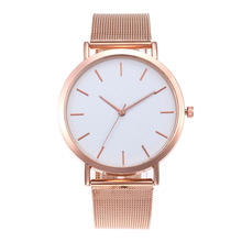 AliExpress Hot Sell Women's Watches Round Dial Luxury Silver Clock Reloj Classic Casual Alloy Fashion Casual Quartz Wristwatch
