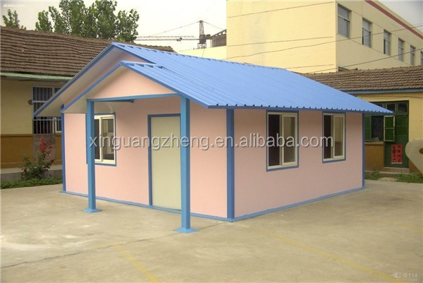 easy assembly steel frame prefabricated houses
