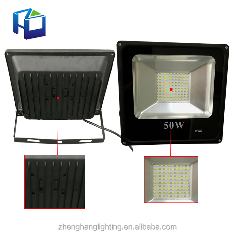 Custom design hot selling CE RoHS led lamp rgb 50w SMD led flood light