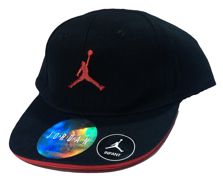 ea1f6ea44aa Get Quotations · Nike Jordan Jumpman Infant Boy s Baseball Cap Adjustable 12 -24M