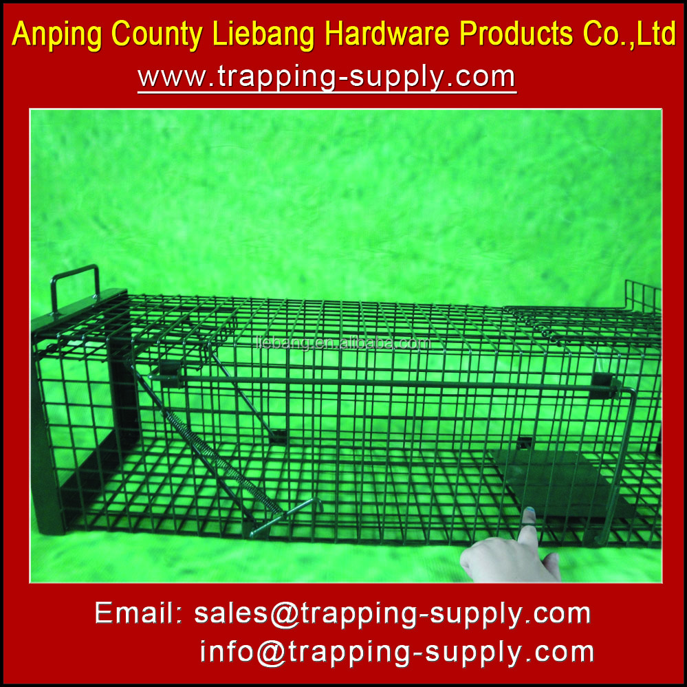 High Quality Humane Live Animal Trap Cage for Mink Sable Ermine