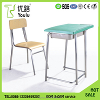 Hot selling artistic environment ABS Adult Study Table Chair