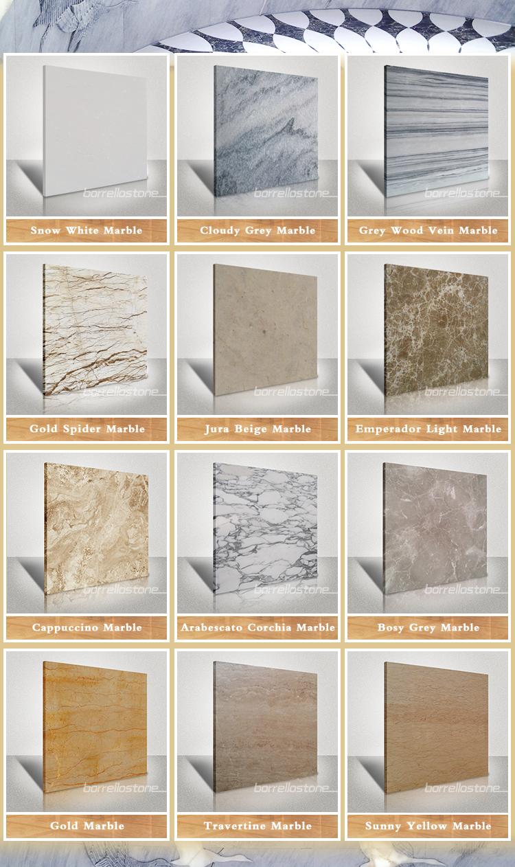 Olhar de madeira piso de mármore cinza telha