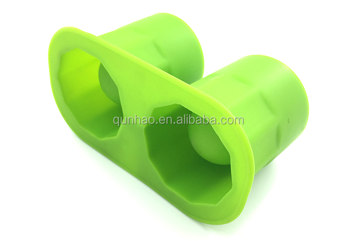 Food Grade Easy Clean 4 cavity Ice Block Moulds
