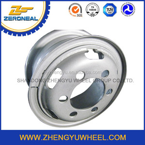 22.5x11.75 tubeless steel wheel