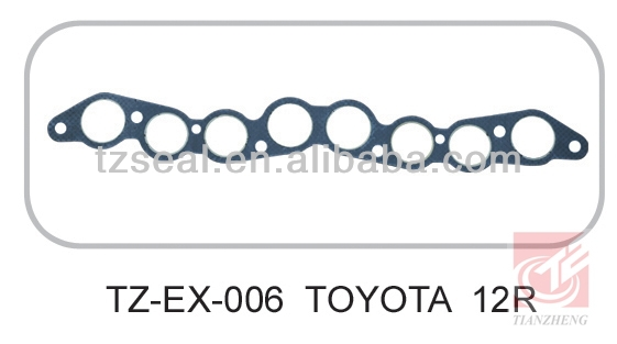 TOP quality Exhaust Manifold Gasket/auto parts/top cylinder gasket for TOYOTA