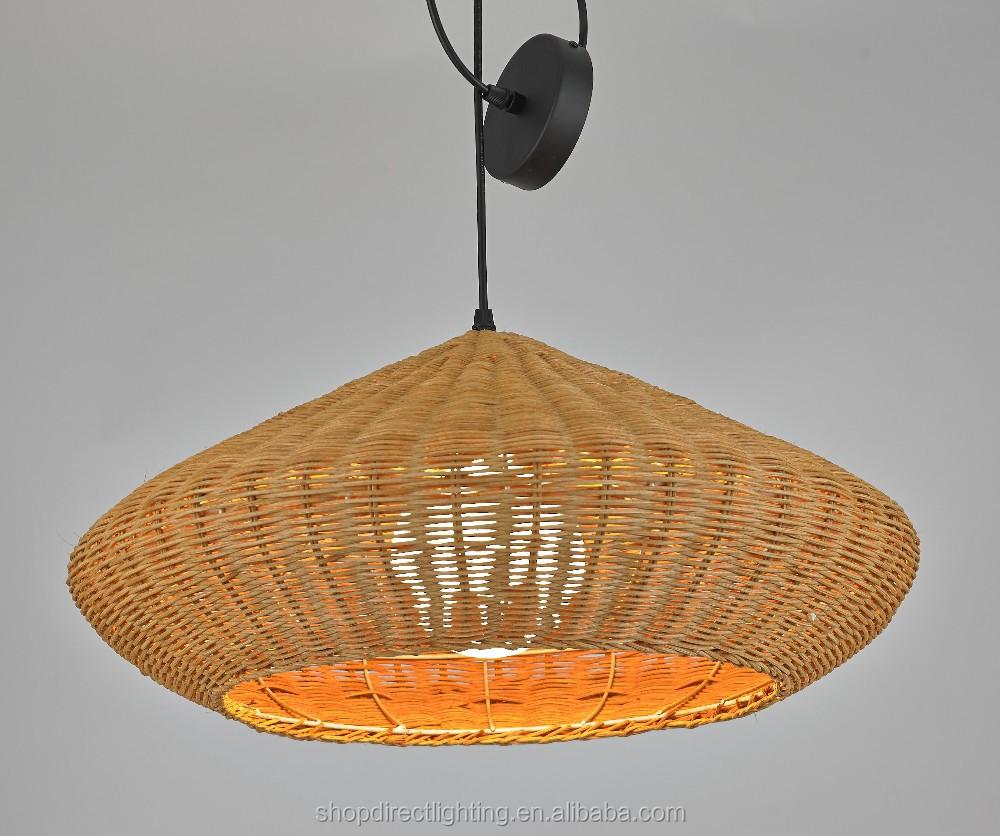 Contemporary Rattan Pendant /ceiling Lighting