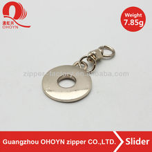 High quality new design custom d ring shape zip puller