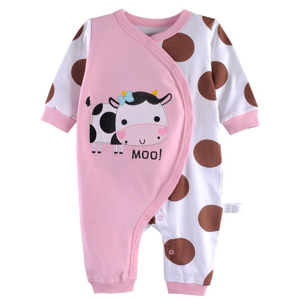 1d2bffe44 Buy Fleece Baby Pajamas Rompers Body suits Foot Cover Newborn one ...