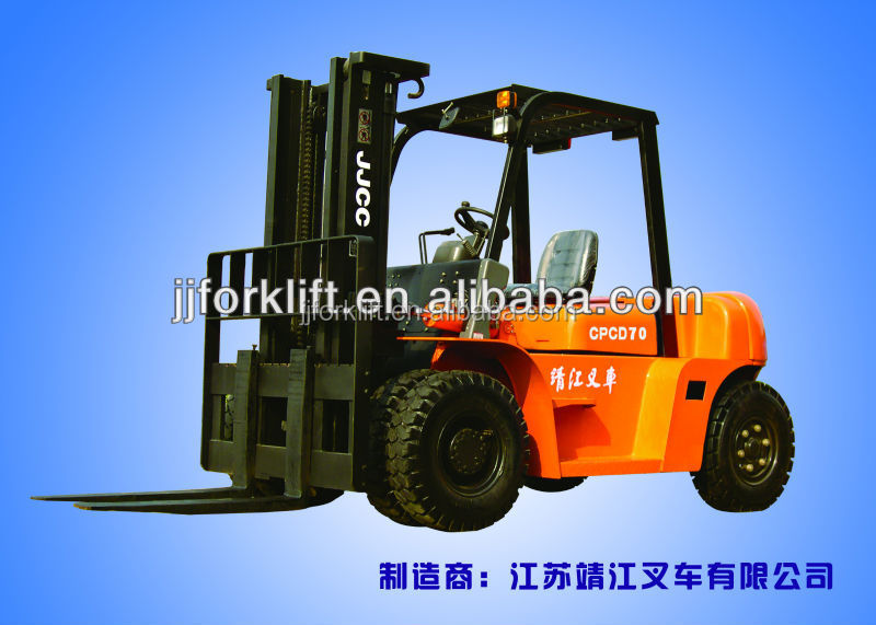 7T forklift CPCD70 for sale factory price