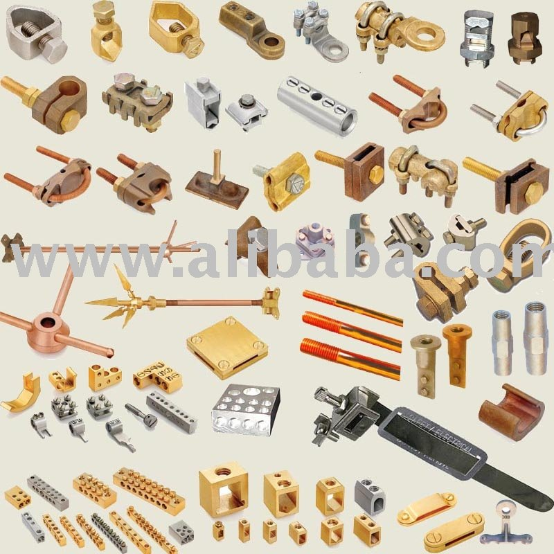 Brass Copper Alloy Electrical And Earthing Accessories