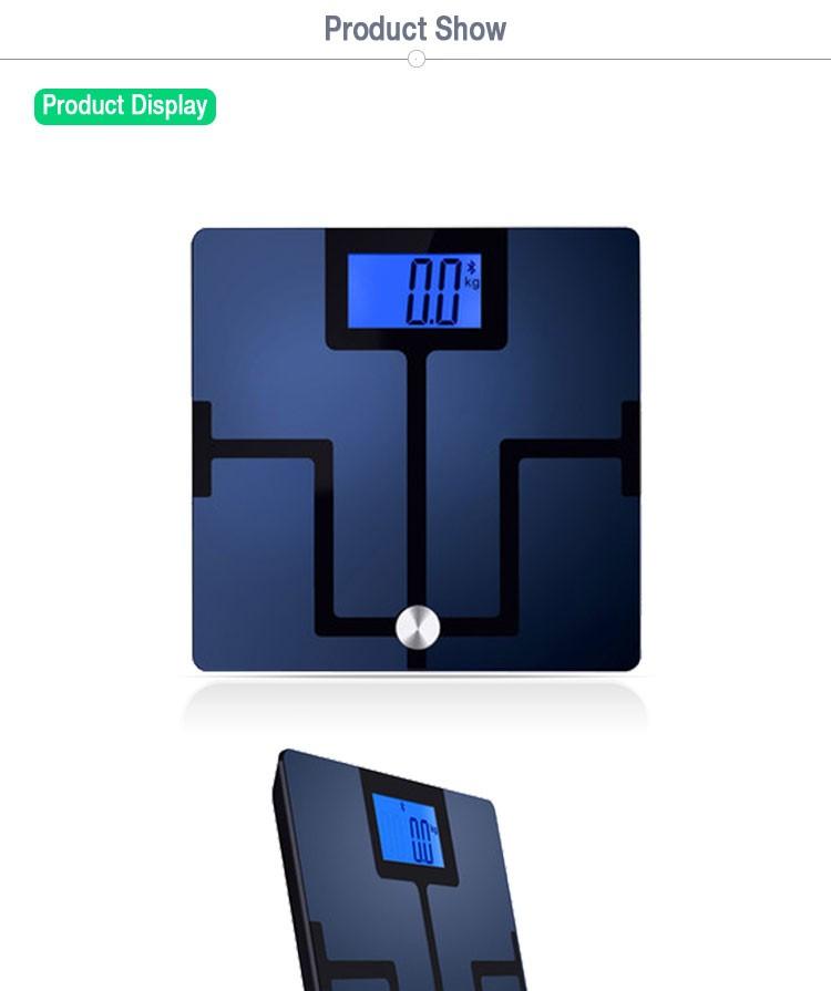 Bathroom scale iphone