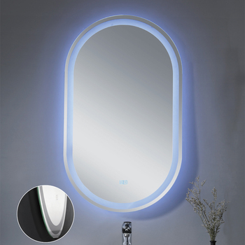 Hotel Salon Wall Mount Decorative Magnifying Makeup Vanity LED Bathroom Mirror