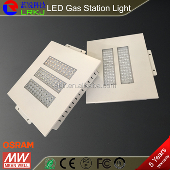Explosion Proof Gas Station Led Canopy Lights Ip65 Led High Bay ...