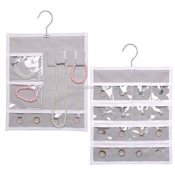 Hanging Wall Pocket Storage Organizer Jewellery Organiser Bag