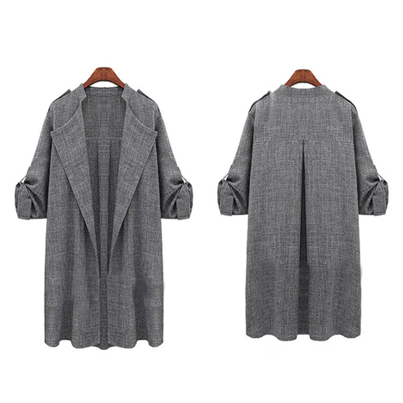 5fce34d999b Cheap Plus Size Spring Coats, find Plus Size Spring Coats deals on ...