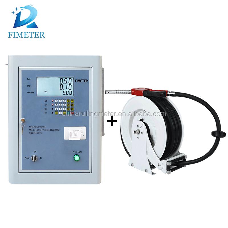 Dc Mini Fuel Dispenser Hose Reel / Diesel Hose Reel With Ogm Flow ...
