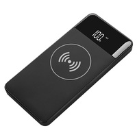 CE,FCC,ROHS certified New arrival 2 in 1 mobile power bank wireless charger 10000mah