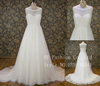 A line princess Top quality bridal gown for women in heavy beading