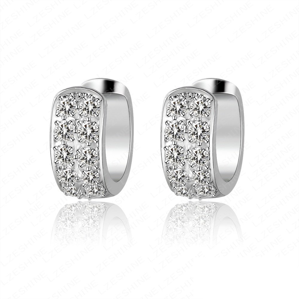 black good ctw diamond gold quality stud round in carat white earrings