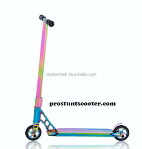 2018 Newest Rainbow Pro Stunt Scooters With 110 mm Air wheels