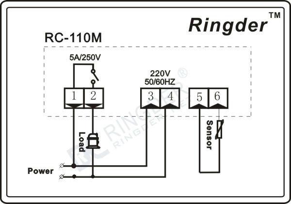 rc-110m incubator thermostat