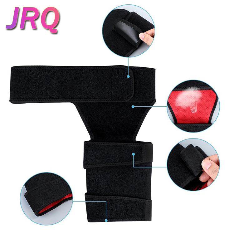 China Leverancier Dij Mouwen Compressie Lies Dij Slimmer Neopreen Verstelbare Hip Lies Guard