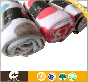100polyester printed polar fleece blanket made in korea products