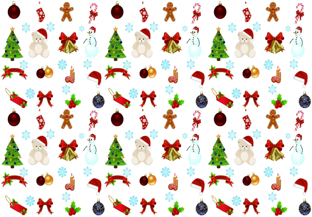 2015 Luxury Christmas Gift Wrapping Paper