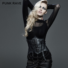 Y-578 steampunk outwear sexy mature leather corset tops