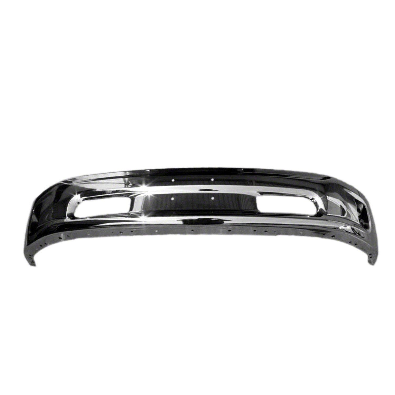 Crash Parts Plus Crash Parts Plus Front Chrome Bumper Face Bar for 2013-2015 Ram 1500