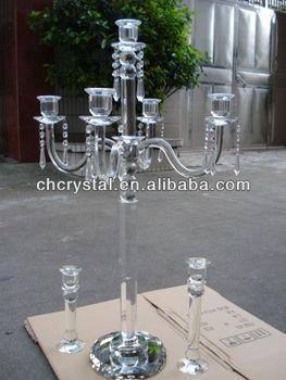 5 arms clear crystal candelabra wedding centerpieces wedding 5 arms clear crystal candelabra wedding centerpieces wedding candelabra junglespirit Images