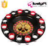 Party Entertainment 16 Shot Spinning Wheel Roulette Drinking Game Set 12''
