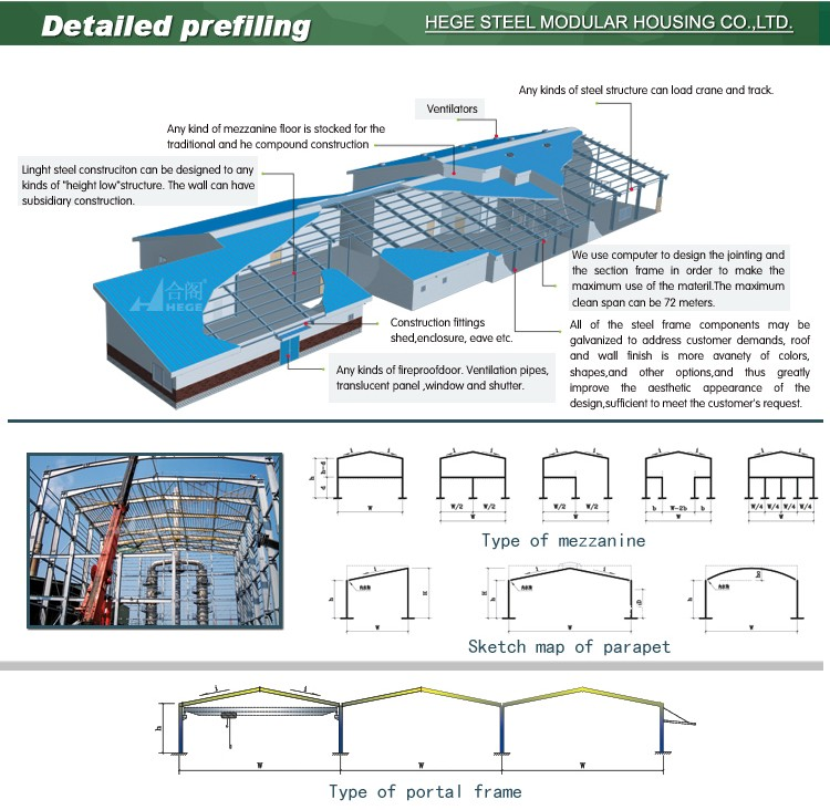High quality dome steel buildings