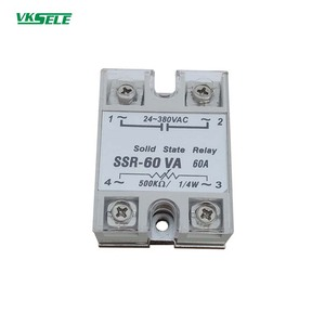 SSR-60VA 60a resistive type single phase solid state relay ssr