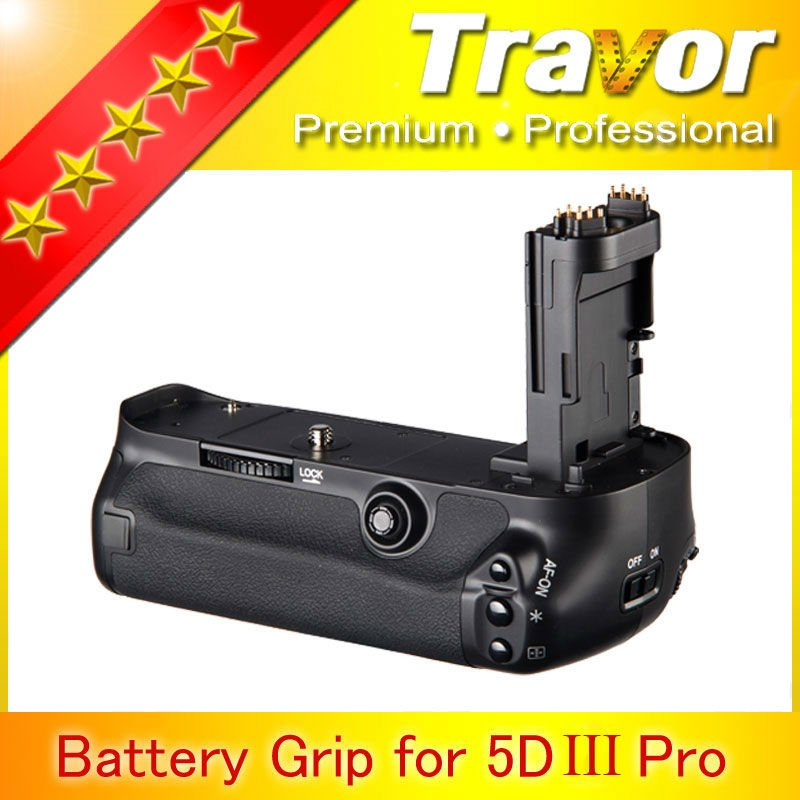 Newly coming Travor Brand for Canon eos 5D Mark iii dslr battey grip 2d replacement